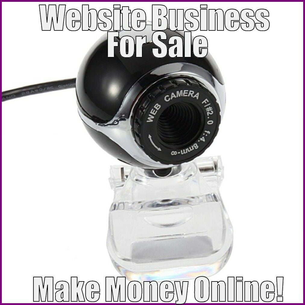 Fully Stocked WEBCAMS Website Business|FREE Domain|FREE Hosting|FREE Traffic