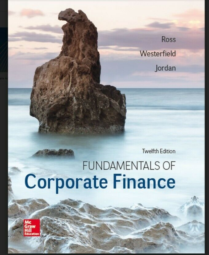 Fundamentals of Corporate Finance, 12th Edition, eBook ONLY