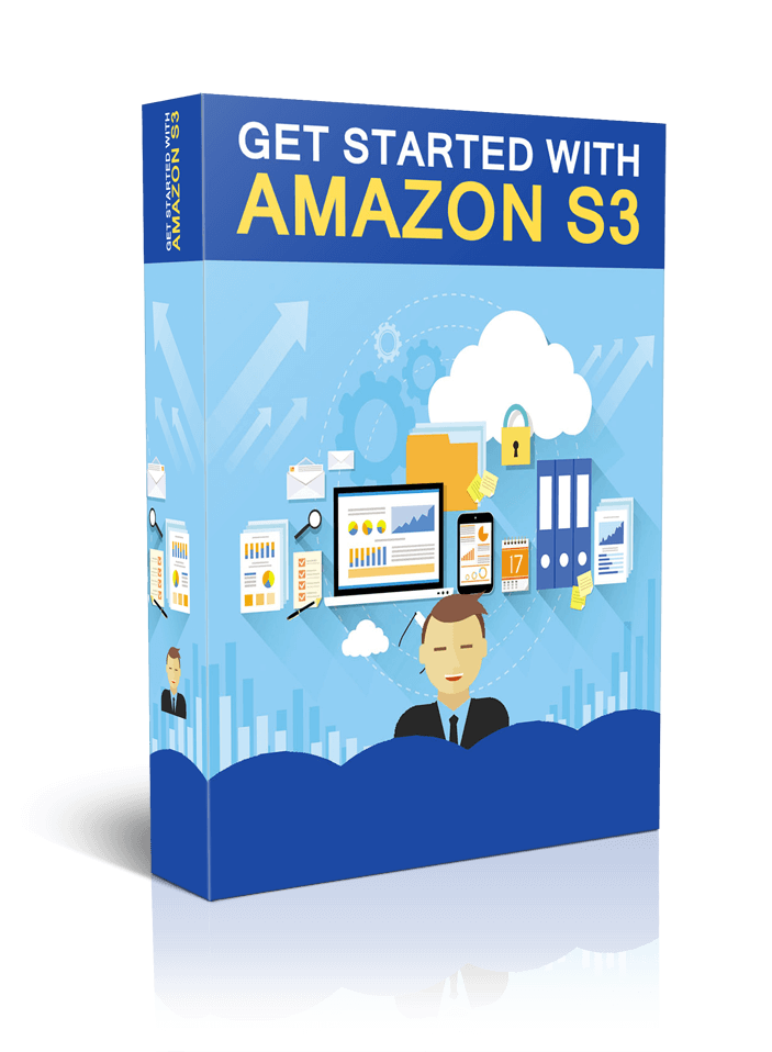 """""""GET STARTED WITH AMAZON S3"""" - MEGA 40-PART VIDEO TRAINING (HQ MP4 Videos + MP3)"""