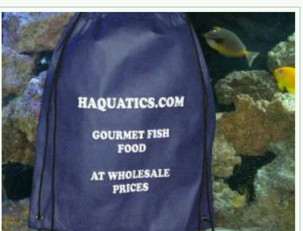 HAQUATICS.COM Website and all supplies ( fish food,bags,ext) turn key bussines