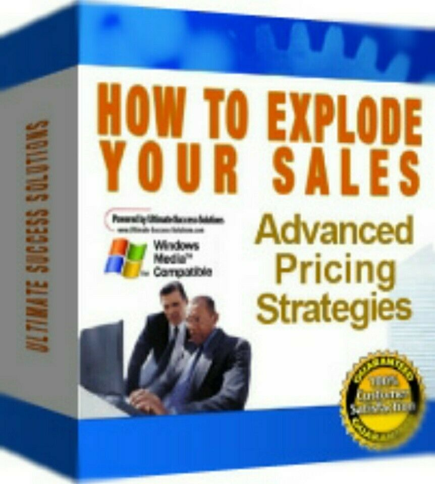 How To Explode Your Sales Advanced Pricing Strategies - *w/Resell Rights*