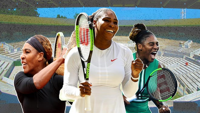 If Serena Williams' serve is on point, Grand Slam No. 24 hers
