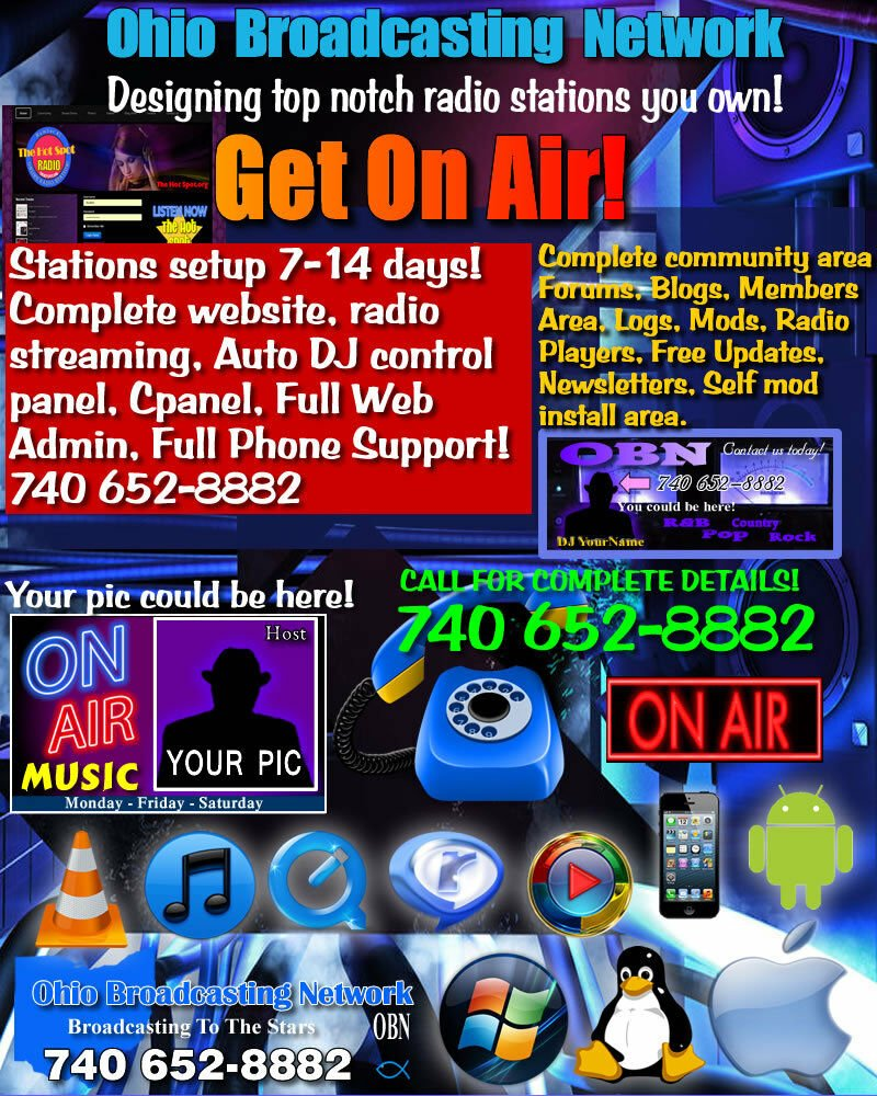 Internet Radio Station COMPLETE SETUP HIP HOP  OR WHATEVER GENRE NEW DESIGN