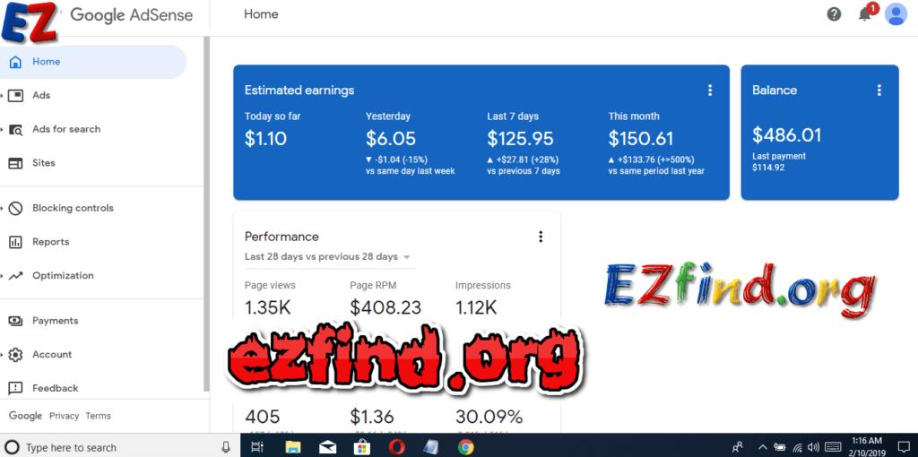 Make money as a Google Adsense Publisher