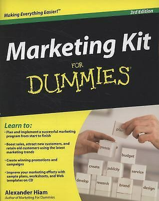 Marketing Kit for Dummies by Alexander Hiam