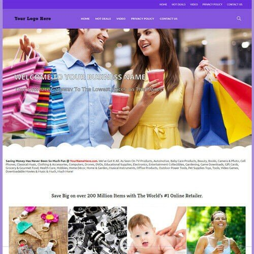 Mega Store Website Business For Sale - Over Million Items To Make Money at Home!