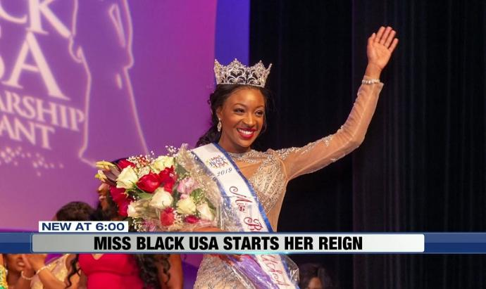 Miss Black USA strives to give back to Wisconsin girls
