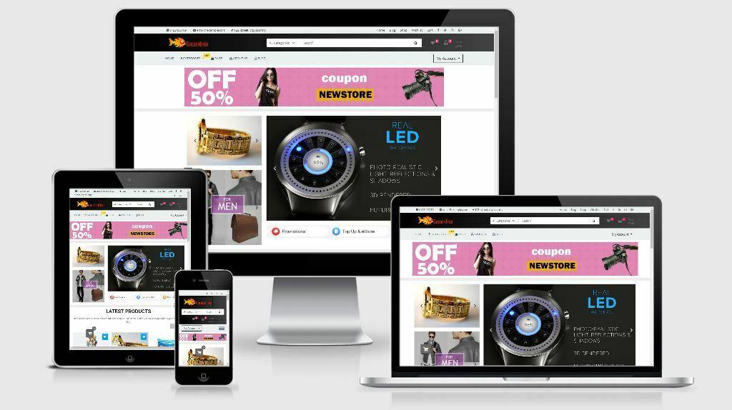 Multipurpose Responsive Online Shop , Store , eCommerce website