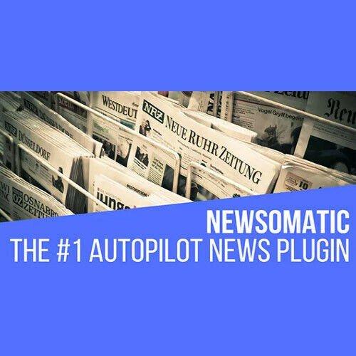 Newsomatic ⭐ Automatic News Post Generator ⭐ Plugin WordPress ⭐ Lastest Version