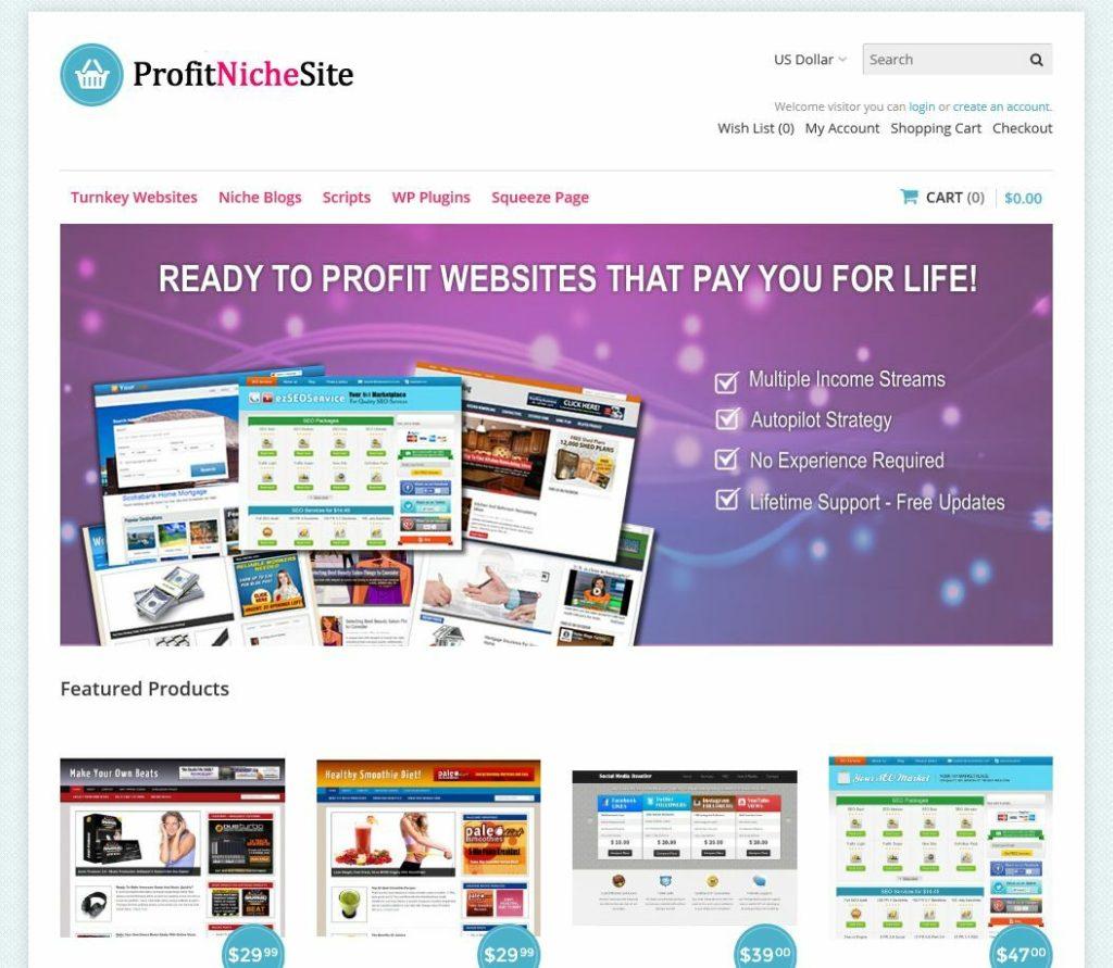 Niche Website Selling Business, Autopilot, Full Customization w/Admin