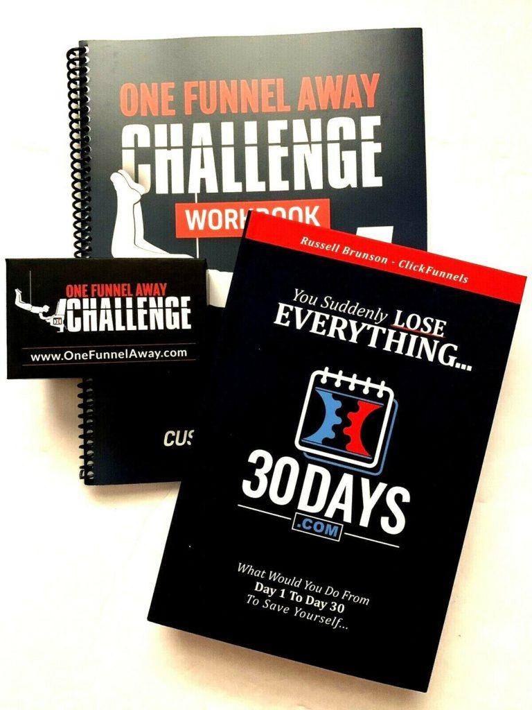 One Funnel Away Challenge Training Box Clickfunnels Russell Brunson
