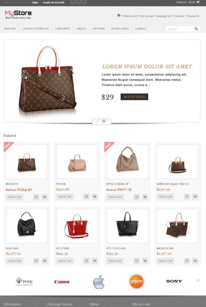 Online Shop/Store Shopping Cart Ecommerce Website + Free Hosting + Installation