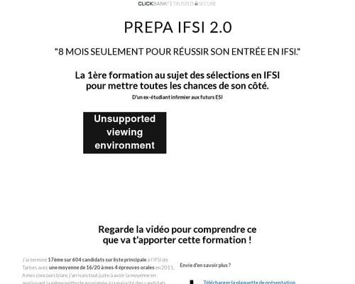 PREPA IFSI 2.0 Le Programme — Tout pour intégrer l'IFSI et réussir les études !
