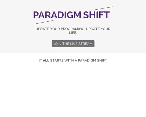 Paradigm Shift | Proctor Gallagher Institute