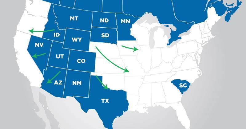 Parkland USA Moves Signal More Growth