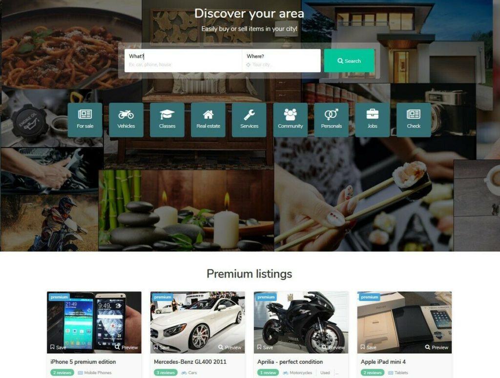 Premium Local Classified Ads Website + Free Install + Hosting SSL