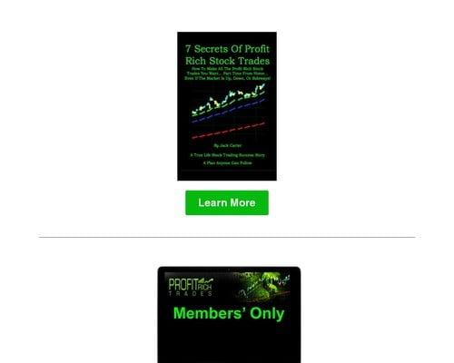 Profit Rich Trades Membership