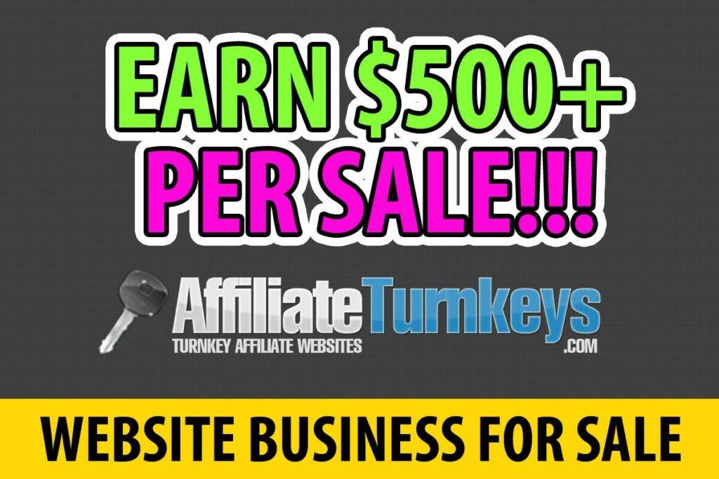 Profitable Website For Sale - Turnkey Online Business - Make Money Selling Sites
