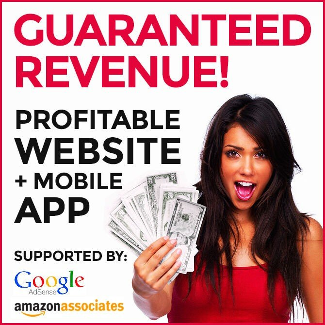 Profitable Website + Mobile App - Make At Least $150/Month. Guaranteed Income!