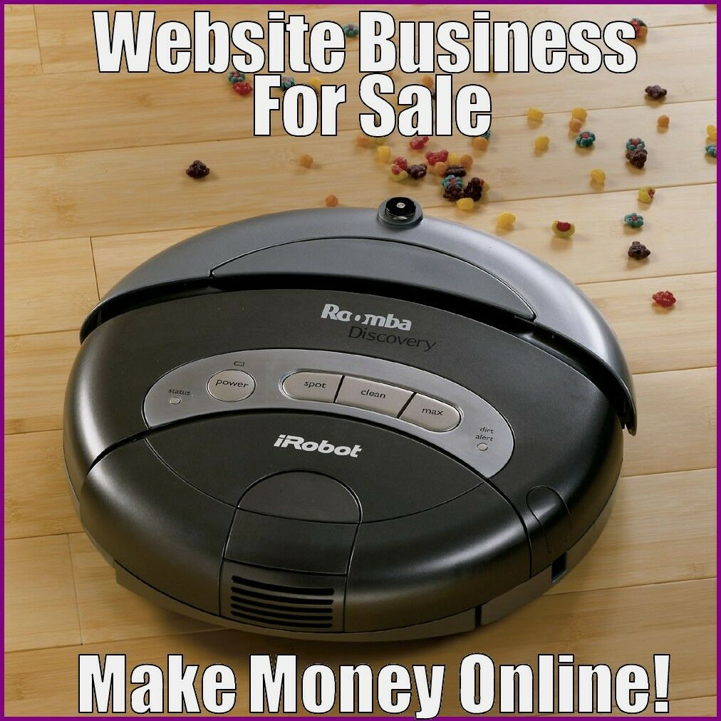 ROBOTIC VACUUM Website Earn $130.25 A SALE|FREE Domain|FREE Hosting|FREE Traffic