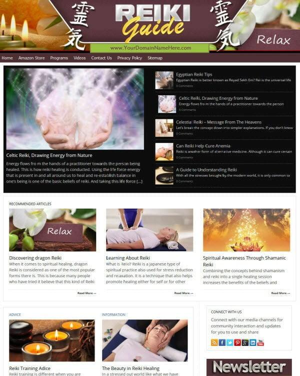 Reiki Website