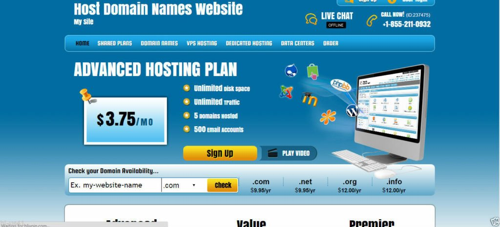 Reseller Web Hosting & Domain Names With Free Reseller Hosting Account