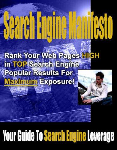 Search Engine Manifesto PDF eBook+Master Resell Right