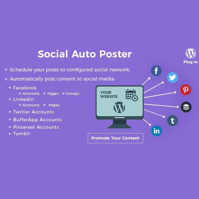 Social Auto Poster - WordPress Plugin - Latest Version