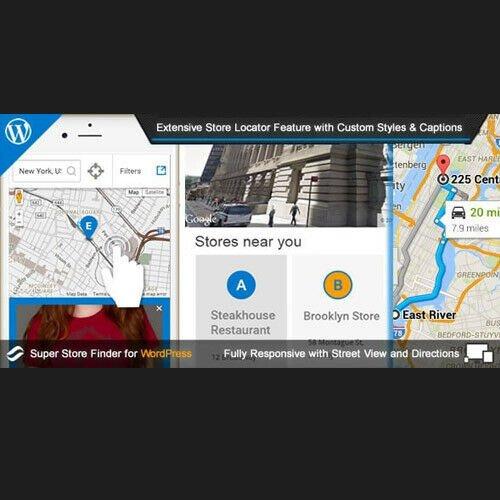 Super Store Finder ⭐ Store Locator WordPress Plugin ⭐ Lastest Version 2019