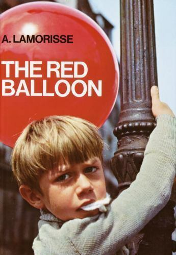 THE RED BALLOON by A Lamorisse FREE SHIPPING hardcover children's book film
