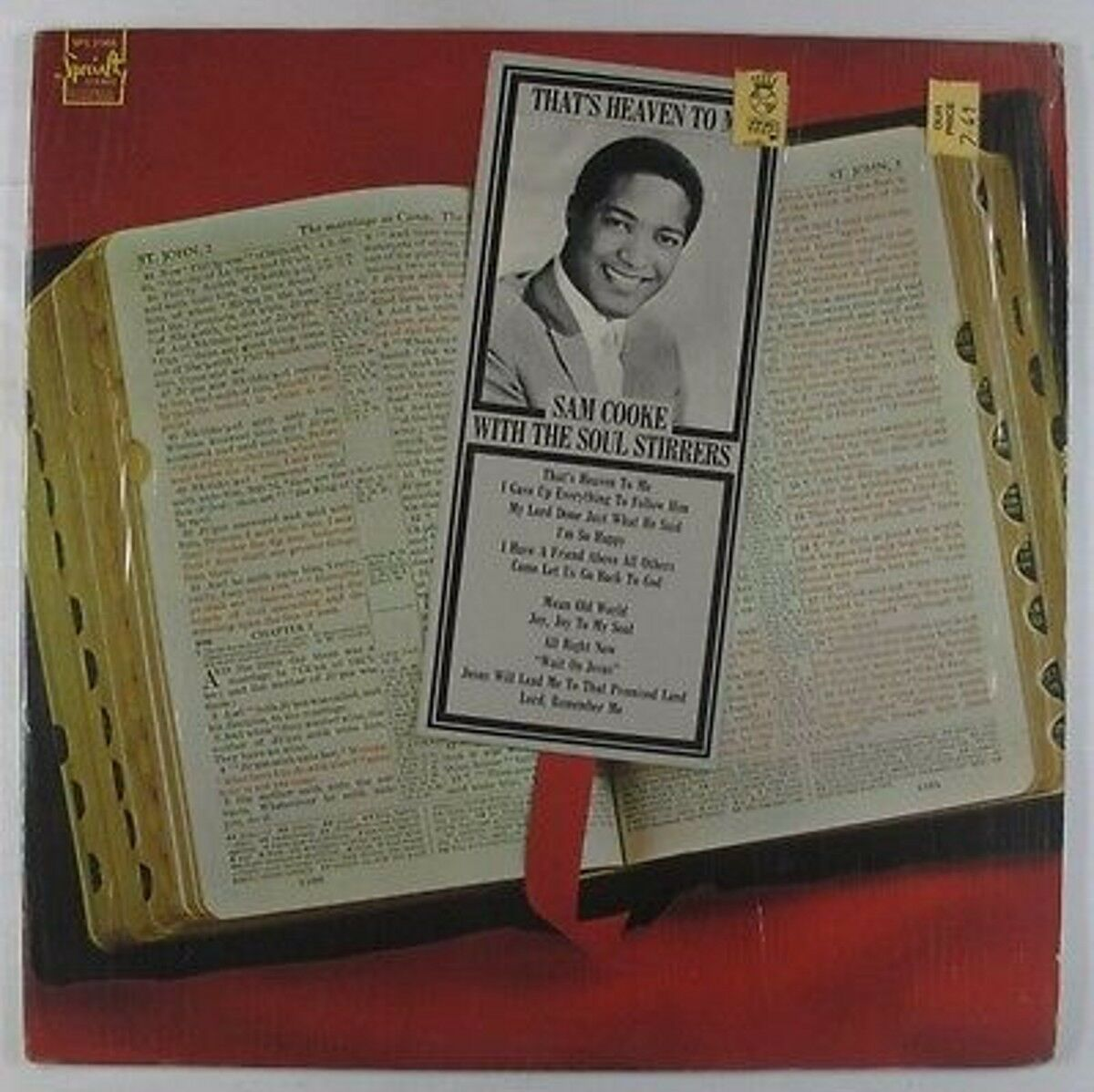 That's Heaven To ME (Specialty) - Soul Stirrers featuring Sam Cooke