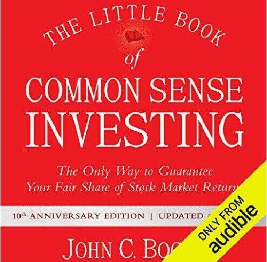 The Little Book of Common Sense    By John C. Bogle (audiobook, Fast e-Delivery)