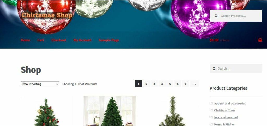 Turnkey Amazon Affiliate Christmas Store Website Business