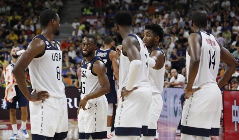 FILE PHOTO: Basketball - FIBA World Cup - Quarter Finals - United States v France