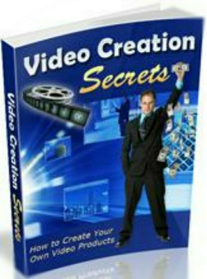 Video Creation Secrets - How To Create You Own Video Products - *w/Resell Rights