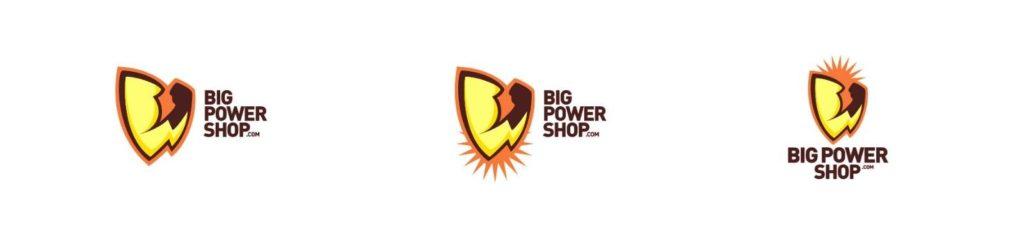 WEB SITE & DOMAIN: BIGPOWERSHOP.COM  Includes, name, design, logo's, etc