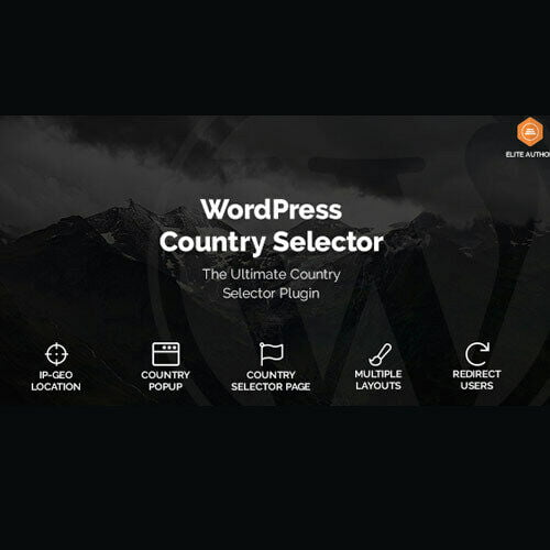 WordPress Country Selector ⭐ Country Picker ⭐ WordPress Plugin ⭐ Lastest Version