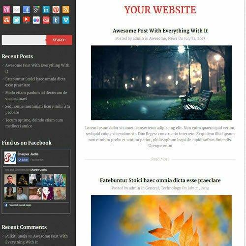 WordPress 'DIARY' Website News / Magazine Theme Business (FREE HOSTING)