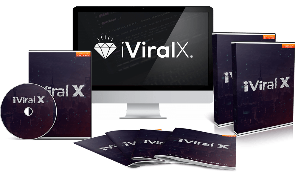 iVIRAL X NEW Push Button Software Gets You   VIRAL, Buyer Traffic In 60 Second