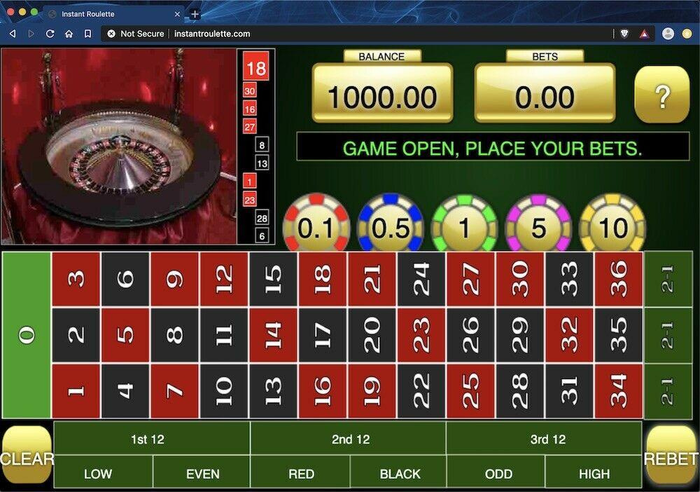 instantroulette.com live roulette affiliate website