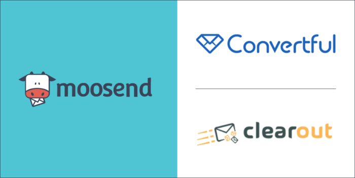 Convertful and Clearout are now Natively Integrated with Moosend