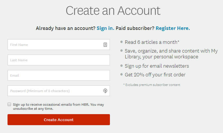 Email forms can be a great way to personalize your emails. This should be part of a broader tactic: website and email personalization.