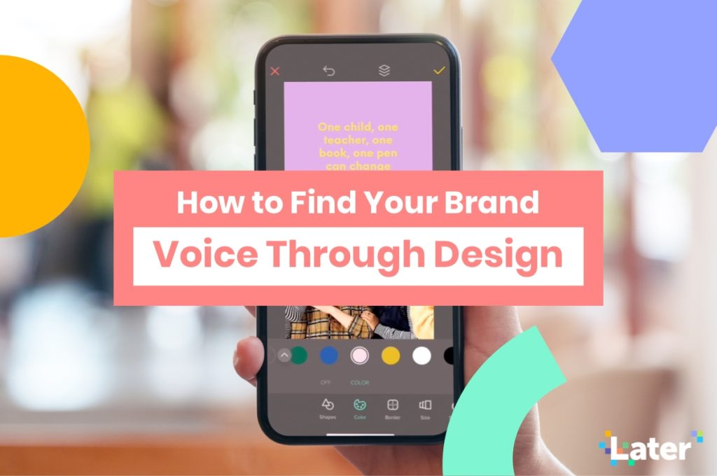 How to Find Your Brand Voice Through Design