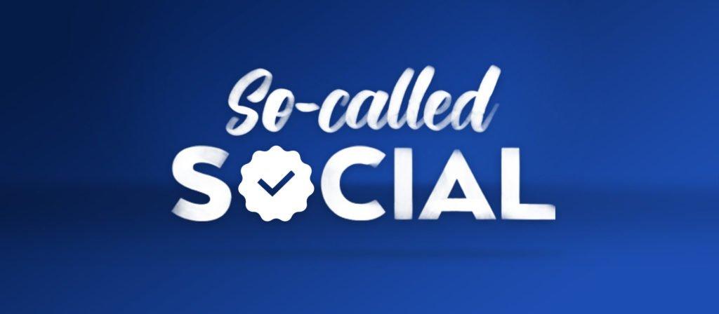So-Called Social: Week ofMay 28