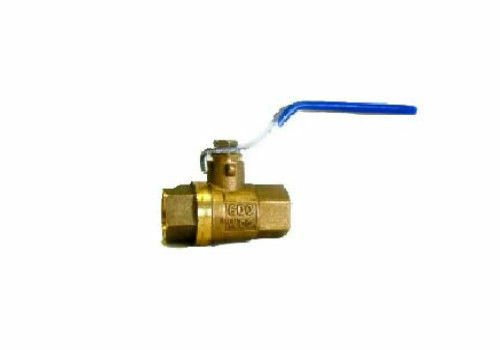 "1/4"" NPT Female Full Port Pneumatic Compressor Shut Off Air Brass Ball Valve"