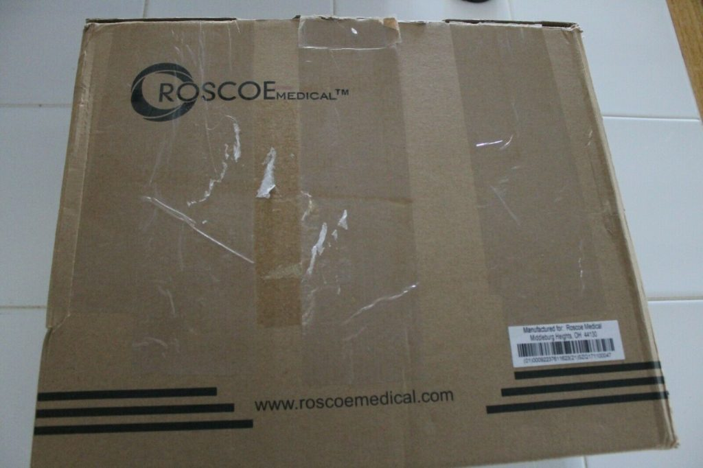 Roscoe Medical DQ8450 Quattro 2.5 Electrotherapy Device 4 Channel IF EMS