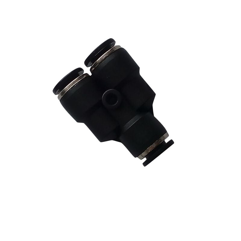 """5 Pcs 5/16"""" OD Air Pneumatic Push In Connector Y Type Fitting"""