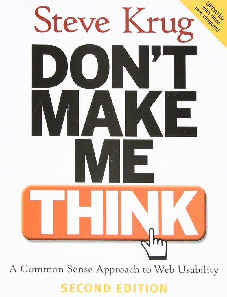 1: Don't Make Me Think