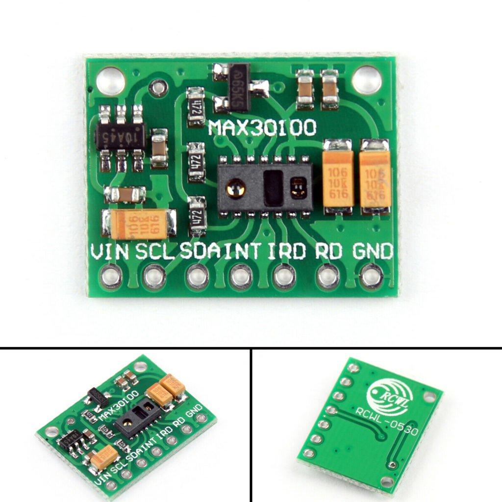 5Pcs MAX30100 Heart-Rate Pulse Sensor Oximeter Module For Medical Devices US