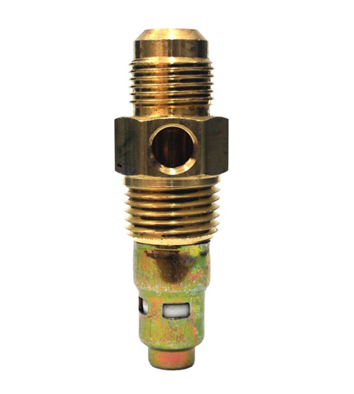 "American Made 1/2"" Flare x 1/2"" Male NPT Brass Air Compressor Tank Check Valve"